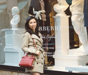 Holiday Shopping at Burberry