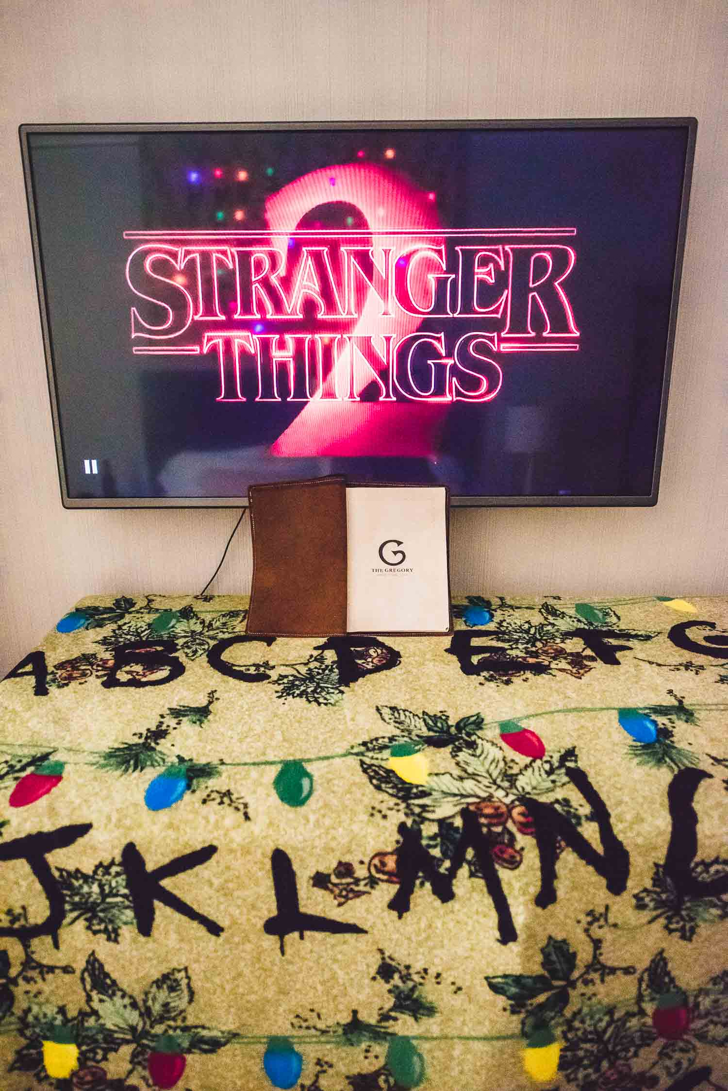Stranger Things Themed Room At The Gregory Hotel The